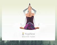 YogaNow - Concept App