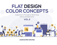 Modern Flat design people and Business concepts 2