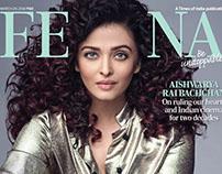 Aishwarya Rai for Femina, March 2018