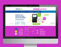 Directpay website design