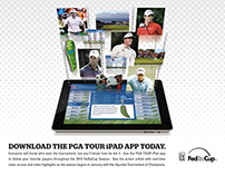 PGA TOUR iPad App ad