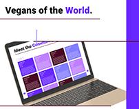 Vegans of the World : Community Website