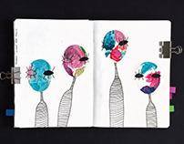 Sketchbook Extract - Creatures