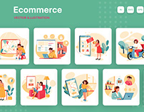 Ecommerce Illustration Pack