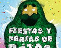 """Propuesta Cartell de """"Fiestas y ferias de Béjar"""""""
