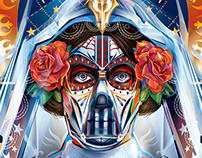 DAY OF THE DEAD - STARWARS- FANDANGO Commission