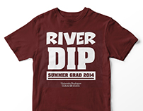 University Bookstore at Texas State River Dip Shirt