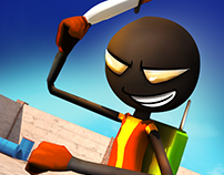 Stickman Knife Revenge