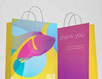 Sea in Color - Shopping Bag Design