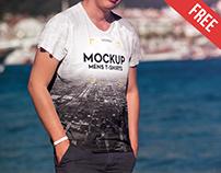 Men's T-shirt – 2 Free PSD Mockups