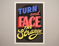 FACE THE STRANGE • PRINT