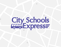 City Schools Express Logo Design