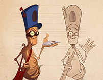 Root the Postwood character design