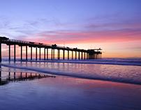 San Diego La Jolla Beach - DJI Phantom 3 Professional