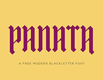 PANATA | Free Blackletter Font