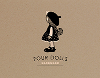 Identity Hand Made brand: Four Dolls