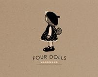 Identity Hand Made brand: Four Dolls
