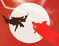 Batman v Superman: Dawn of Justice poster art