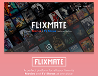 Flixmate. A streaming service for Movies & TV Shows.