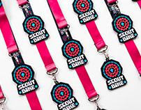 Scout Bike visual identity, medal design ⚜️