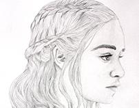 Portrait: Daenerys Targaryen