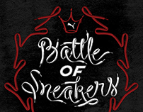 Battle of Sneakers Lettering | OUC | PUMA