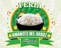AMANTES DEL ARROZ-ARROZ IMPERIO