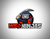 WSO Ninjas Logo Mascot Design