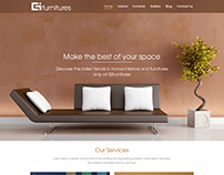 Furniture webdesign