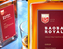 Baoba Royal whisky (concept)