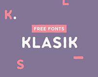 Klasik Free Typefamily