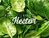 Marché bio Hector