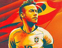 So Foot Magazine cover. Fifa World Cup Russia 2018