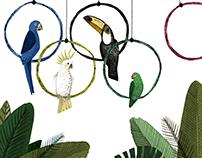 Olympics Rio Birds 2016