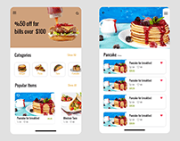 Food Shop UI Design