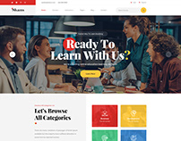 Skans - LMS & Online Education Template