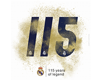 Real Madrid 115th anniversary