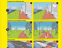 Groningen Fietsstad infographics