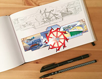 From sketch to picture - a doodle for Prodampfer.org