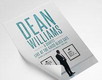 Dean Williams Jazz Event Poster