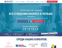 SBA Group | Landing Page | WebDesign