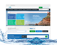 South West Water - Responsive Website
