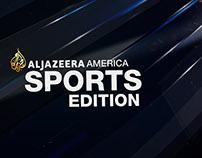 Aljazeera America Sports opener edition