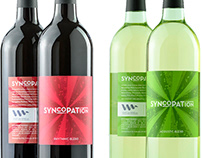 Syncopation Wine Label Design