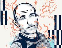 Press Illustrations - The Last Loire's Pirate