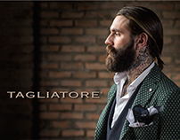 TAGLIATORE AW2015 Fashion Film - starring Ricki Hall