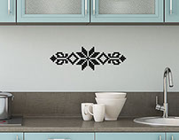 Riddararós (Knight Rose) - Wall Sticker