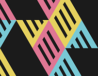 Poster festival minimal music