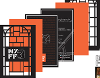 NYFF Invitation and Banner