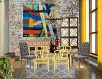 Autumn Moodboard: dining-room
